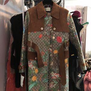 GG supreme tian trench coat